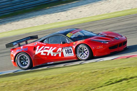 Ferrari 458 GT2 - by Alidarnic