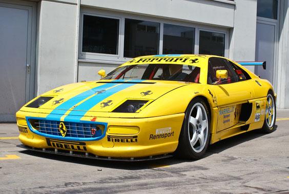Ferrari 348 Competizione - by Alidarnic (Modena Trackdays 2011)