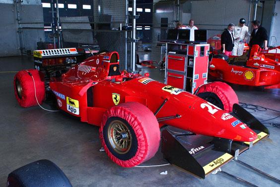 "Ferrari 412 T1 '94 ""G. Berger"" - by Alidarnic (Modena Trackdays 2011)"