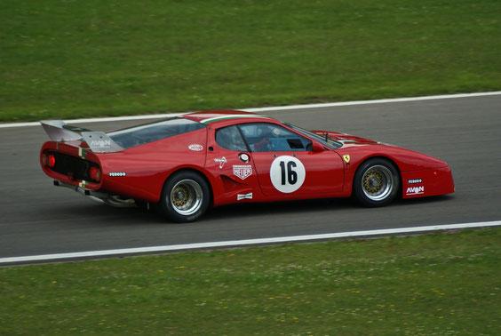 Ferrari 512 BB LM - by Alidarnic (Modena Trackdays 2011)