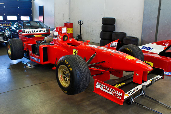 "Ferrari F310 B '97 ""M. Schumacher"" - by Alidarnic (Modena Trackdays 2011)"