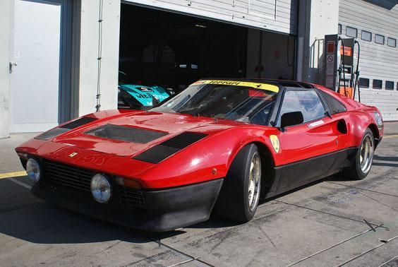 Ferrari 308 GTB Racing - by Alidarnic (Modena Trackdays 2011)