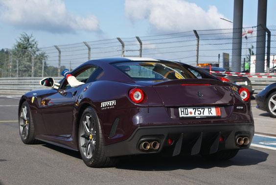 Ferrari 599 GTO - by Alidarnic (Modena Trackdays 2011)