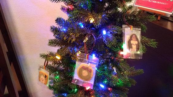 小倉南区にあるリラクゼーションスポットリセッタのクリスマスツリー