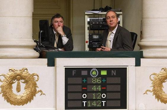 Das Ergebniss der Abstimmung im belgischen Parlament. Foto: dpa