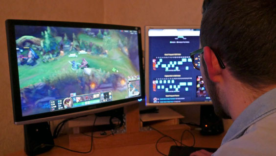 "Luc Thannen (17) spielt fast täglich ""League of Legends"""