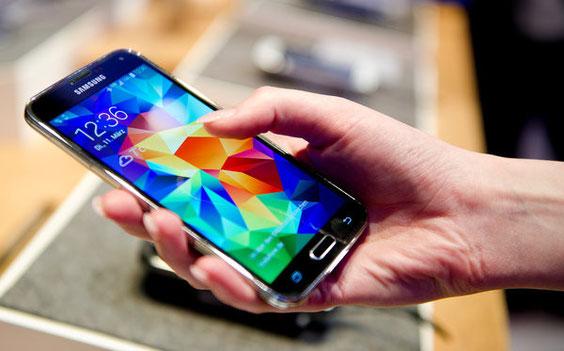 Das neue Samsung Galaxy S5. Foto: dpa