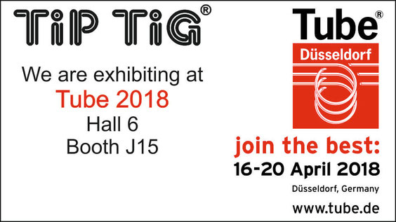 tiptig exhibiting at tube 2018