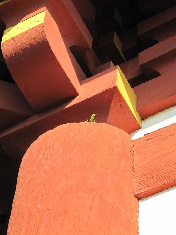 ◆京都宝塔寺にて。