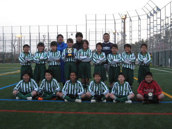 2012江戸川南部リーグ(2010~2011)4年生3位