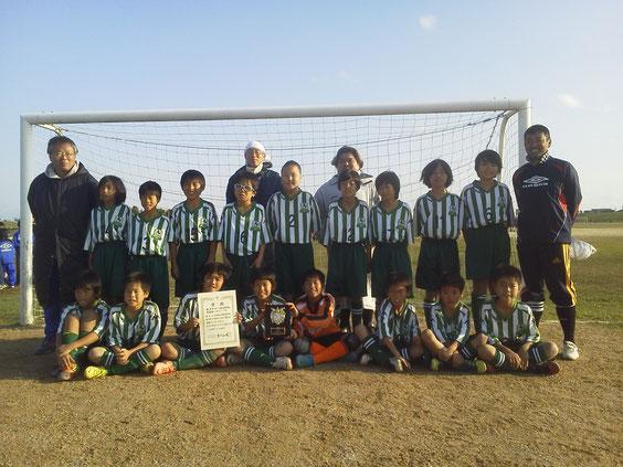 2012年江戸川連盟秋季大会(5年生)準優勝