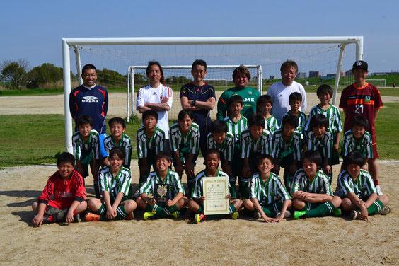 2012年江戸川連盟春季大会3位