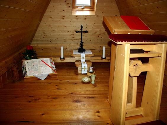 Dachoratorium im Haus am Tannenhain