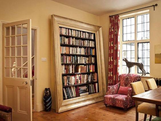 Une idée déco très design au salon du livre...