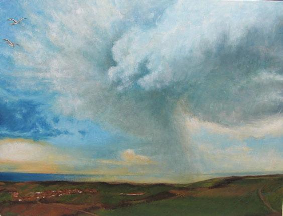 81 x 60 cm - al óleo sobre lienzo.