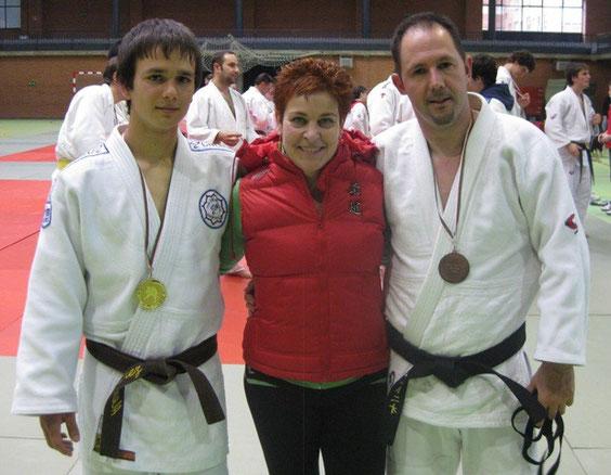 La entrenadora y sus alumnos