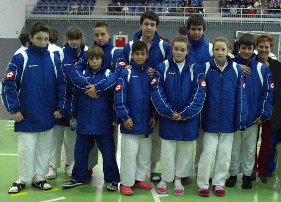 Club de Judo Calasanz (Equipo INFANTIL)