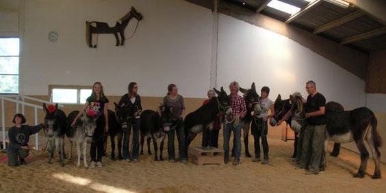 Gruppenfoto der Teilnehmer unseres Zirkus-Workshops am 2. und 3. Oktober