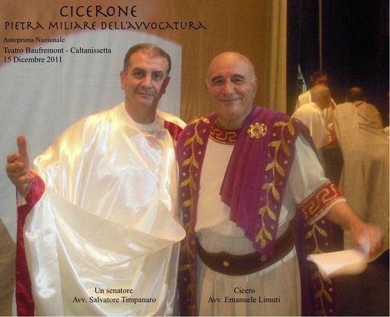 Cicero: il protagonista (Avv. Emanuele Limuti) - Un senatore