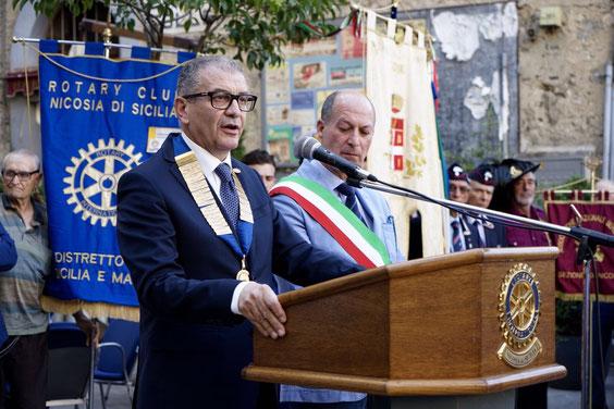 Il discorso ufficiale di inaugurazione