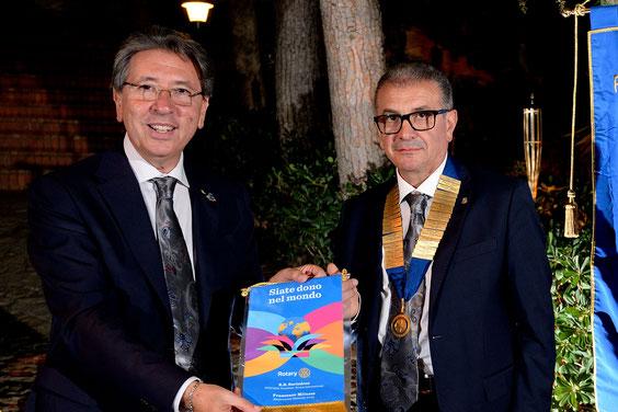 Cerimonia del passaggio della campana e visita del Governatore Prof. Francesco Milazzo - 14 luglio 2015