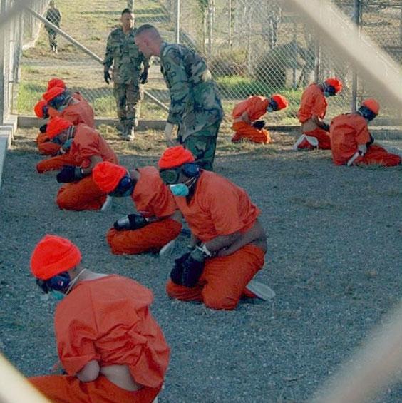 Häftlinge in Guantanamo