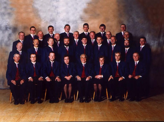 Sängerrunde St. Marienkirchen bei Schärding, ca. 1997