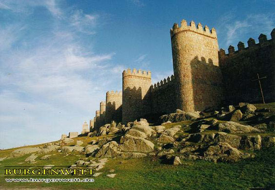 Die Festungsanlagen um das Reich Markazor herum