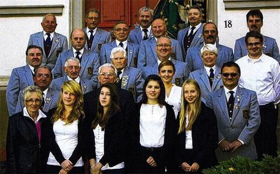 Jubelchor mit seinen Ehrendamen - 2013
