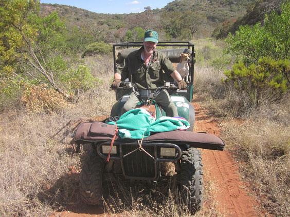 Una inseparabile compagna d'avventure nel bush: Banje