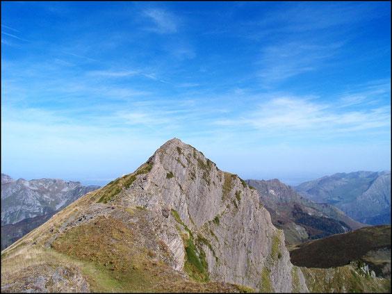 le sommet du Montagnon d'Iseye