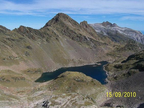 le lac vue du col