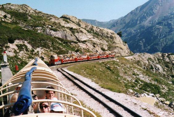 le train de la montagne