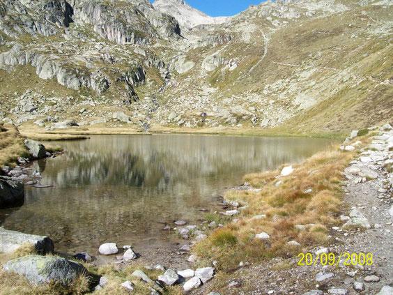 Le lac du Pourtet