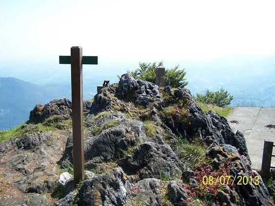 sommet du Pibeste