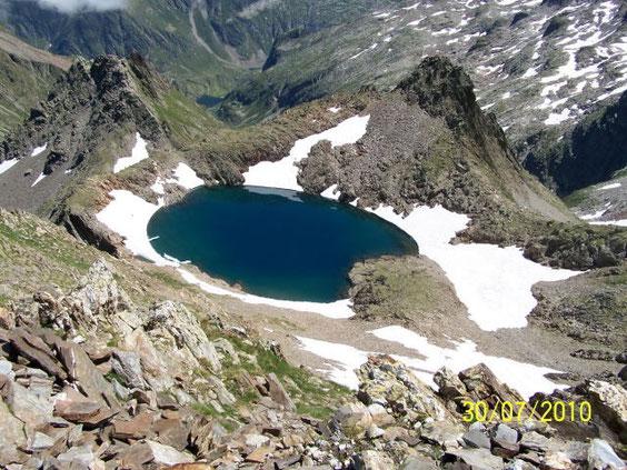 l'étang du pic du Hourgade