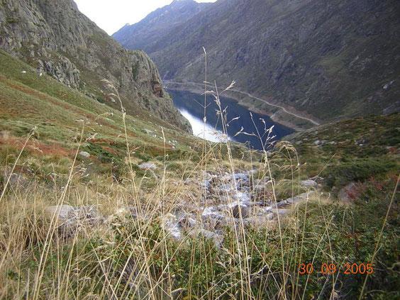 en chemin vers les étangs de la Gardelle