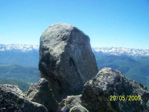 sommet du pic de Soularac