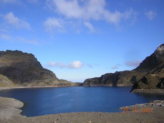Le lac Bleu de Bagnères