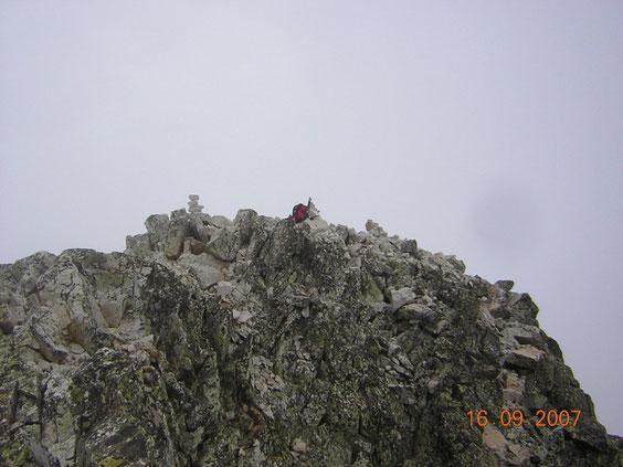 sommet d' un des pics