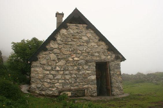 la cabane d'Ichéus