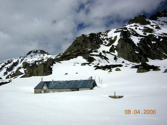 le refuge dans la neige