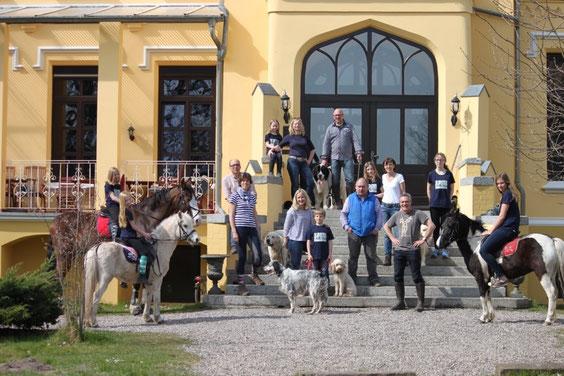 Wieder einen tollen Urlaub im Schloss verbracht!!!! Ostern 2015