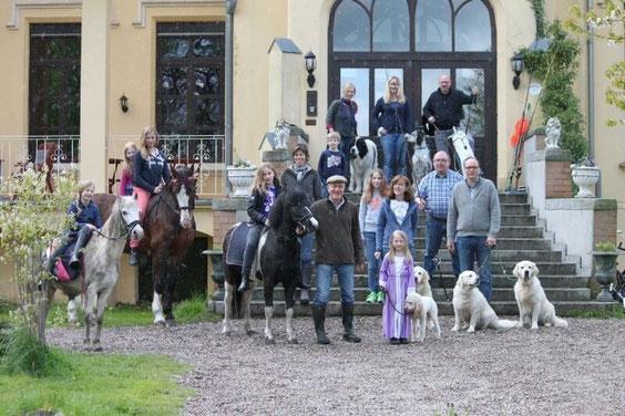 Urlaub Schloss Poggelow