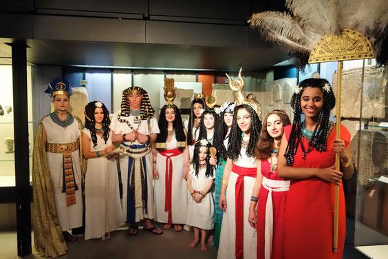 2017: Pharaonische Modenschau im Museum August Kestner Hannover