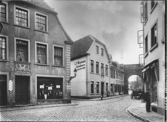 Originalaufnahme Altstadt um das Heger Tor,  © Fotoatelier Lichtenberg