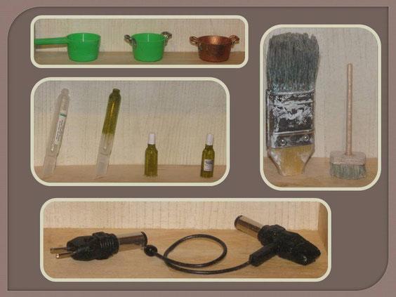 transformation d'objets de récupération