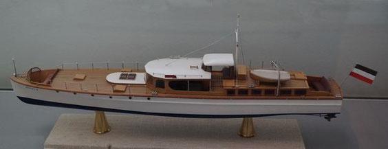 """Modell der """"OHEKA"""" im DSM, Bremerhaven - Bild: Frandsen"""