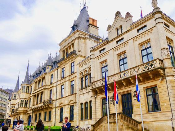 Großherzogs Palast Luxemburg