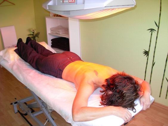 Rotlicht / Wärmetherapie